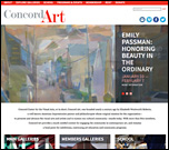 Concord Art gets a new website